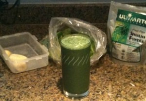 Iron-Rich Energy Greens Smoothie