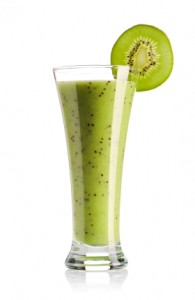 Kiwi Banana Green Smoothie