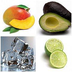 Avocado Mango Lime Smoothie