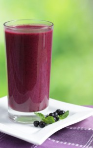 Blueberry Pomegranate Smoothie