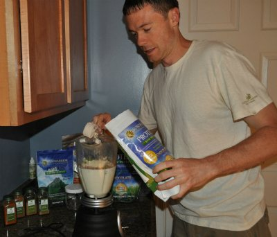 Ryan Sun Warrior Protein Review Smoothie