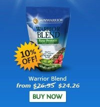 Warrior Blend 500 and 1,000 Gram Bag