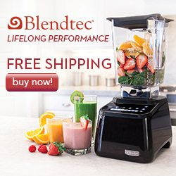 Blendtec Lifelong Performance Free Shipping