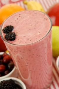 Cleansing Cranberry Bliss Smoothie