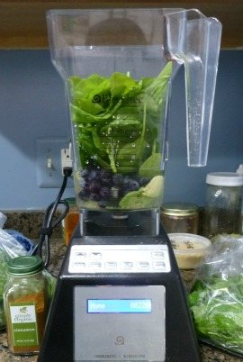 Avocado Arugula Green Smoothie