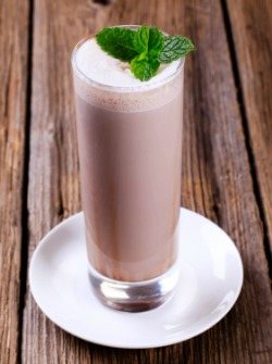 Cherry Chocolate Mocha Smoothie