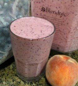 Peach Blueberry Smoothie