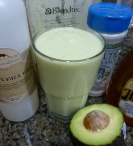 Aloe Vera Lemonade Smoothie