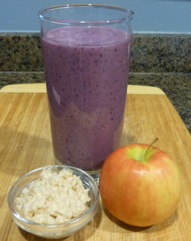Fruity Oatmeal Smoothie