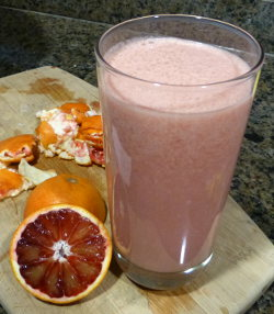 Blood Orange Kefir Smoothie