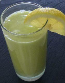 Lemon Lime Avocado Smoothie